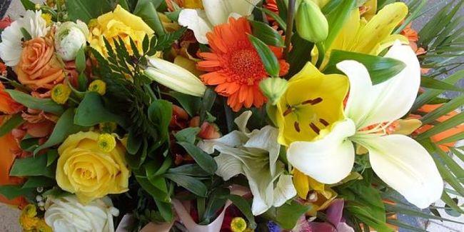 Mazzo di fiori freschi recisi