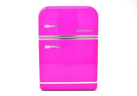 Allegro frigorifero rosa