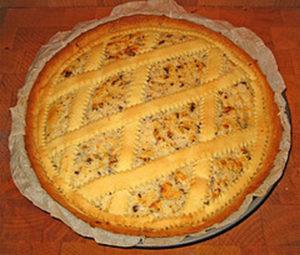 Fiadone salato dell'Abruzzo
