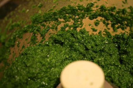 La salsa verde per il Cappon Magro si può fare con il mixer