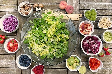 Frutta e verdure non possono mancare in una sana alimentazione