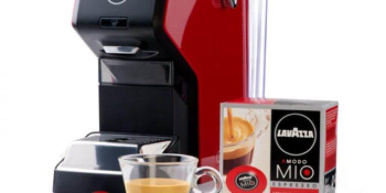 Come si presenta la macchina da caffè Éspria della lavazza