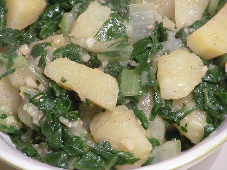 Insalata di patate e bietole