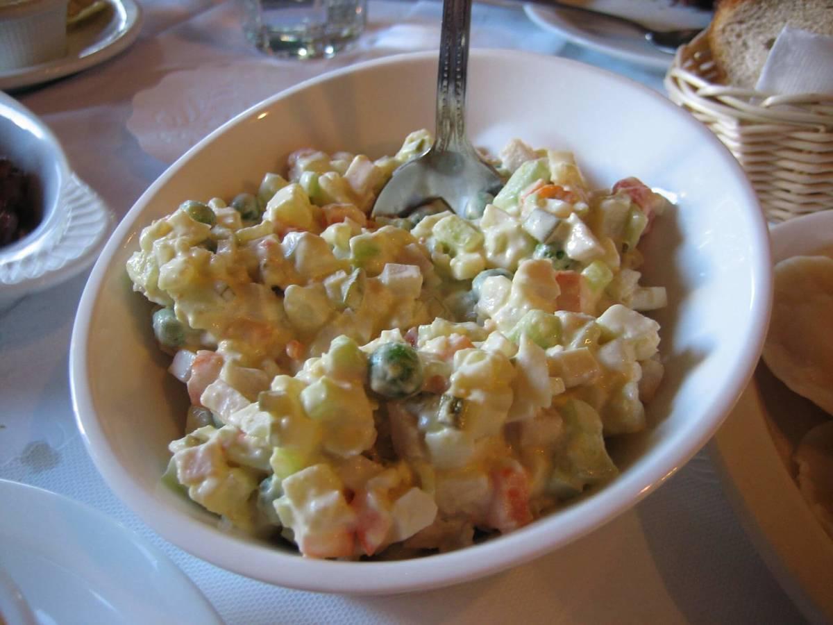 Genuina insalata russa piemontese