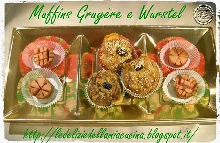Muffins ai wurstel