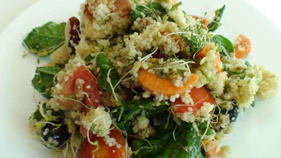 Cous cous al vapore con verdure di stagione