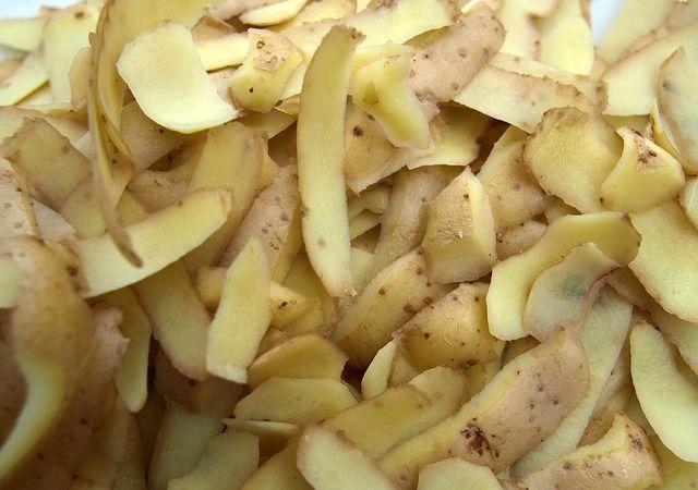 Risultati immagini per buccia patate