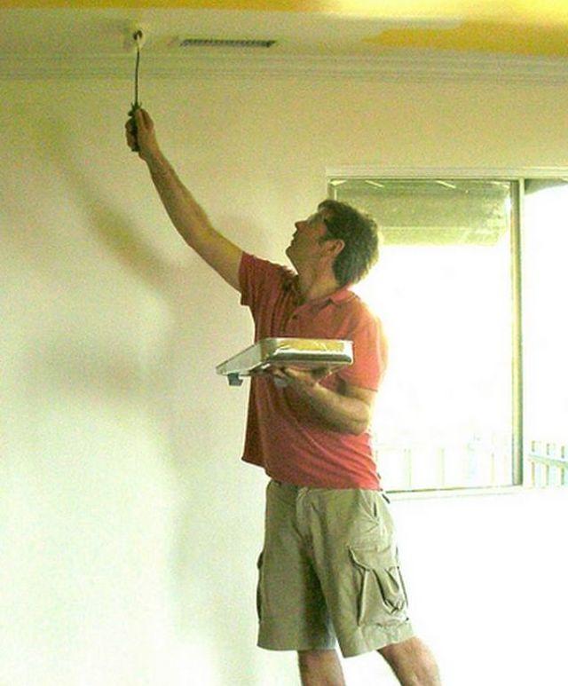 Dipingere il soffitto nel modo giusto richiede accorgimenti ed attenzione