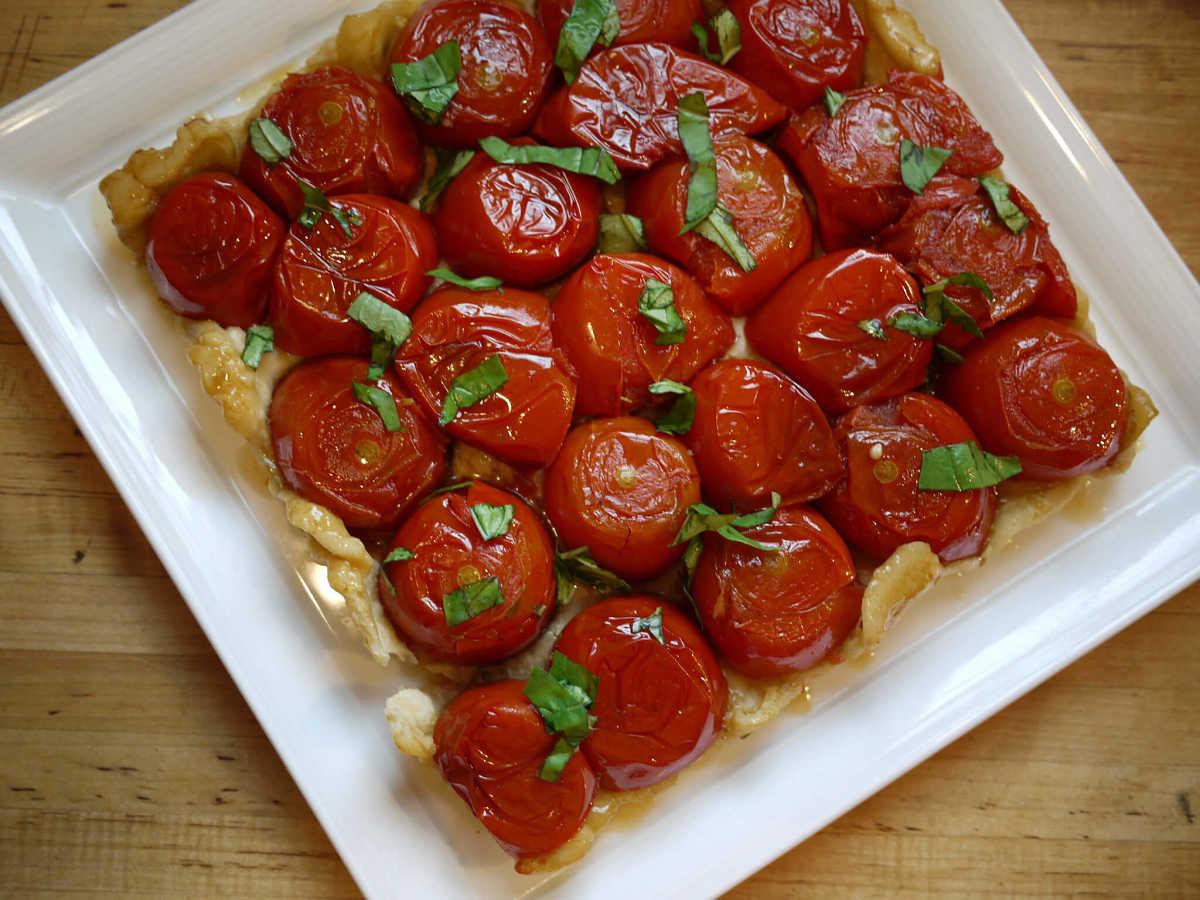 Allegra Tarte Tatin ai pomodori freschi