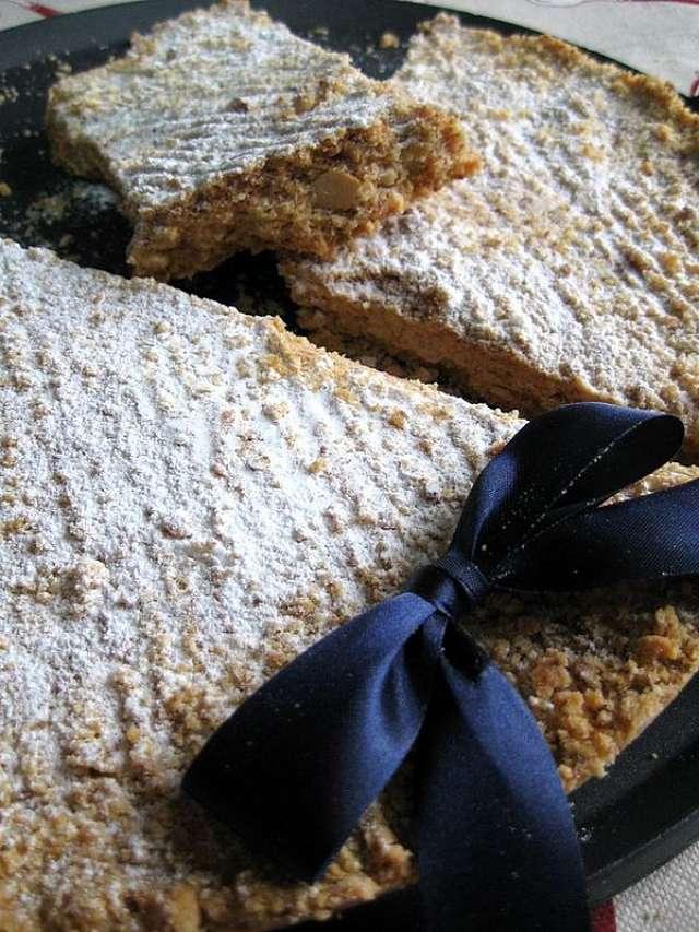 Fotografia di Tortionata lodigiana con le mandorle