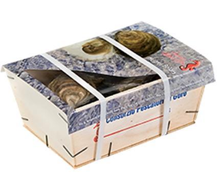 Cassetta di ostriche di Goro