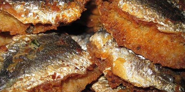 Sarde impanate e fritte ben croccanti