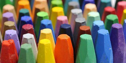 Pastelli a cera colorati non tossici