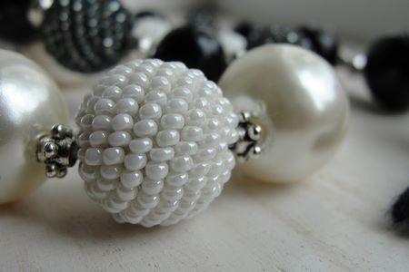 Perle finte di tipi diversi