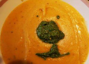 Passato di carote con pesto