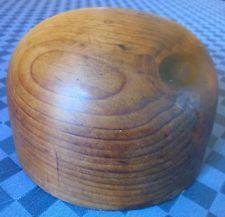 Forma per cappelli vintage in legno