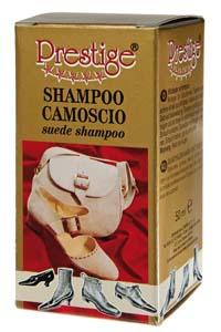 Shampoo apposito per pelle scamosciata per pulire i plantari anatomici