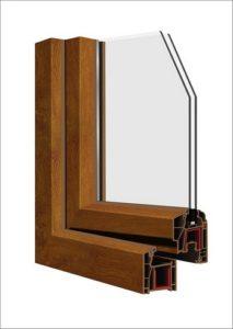 Doppio vetro montato su serramento per isolare termicamente un locale