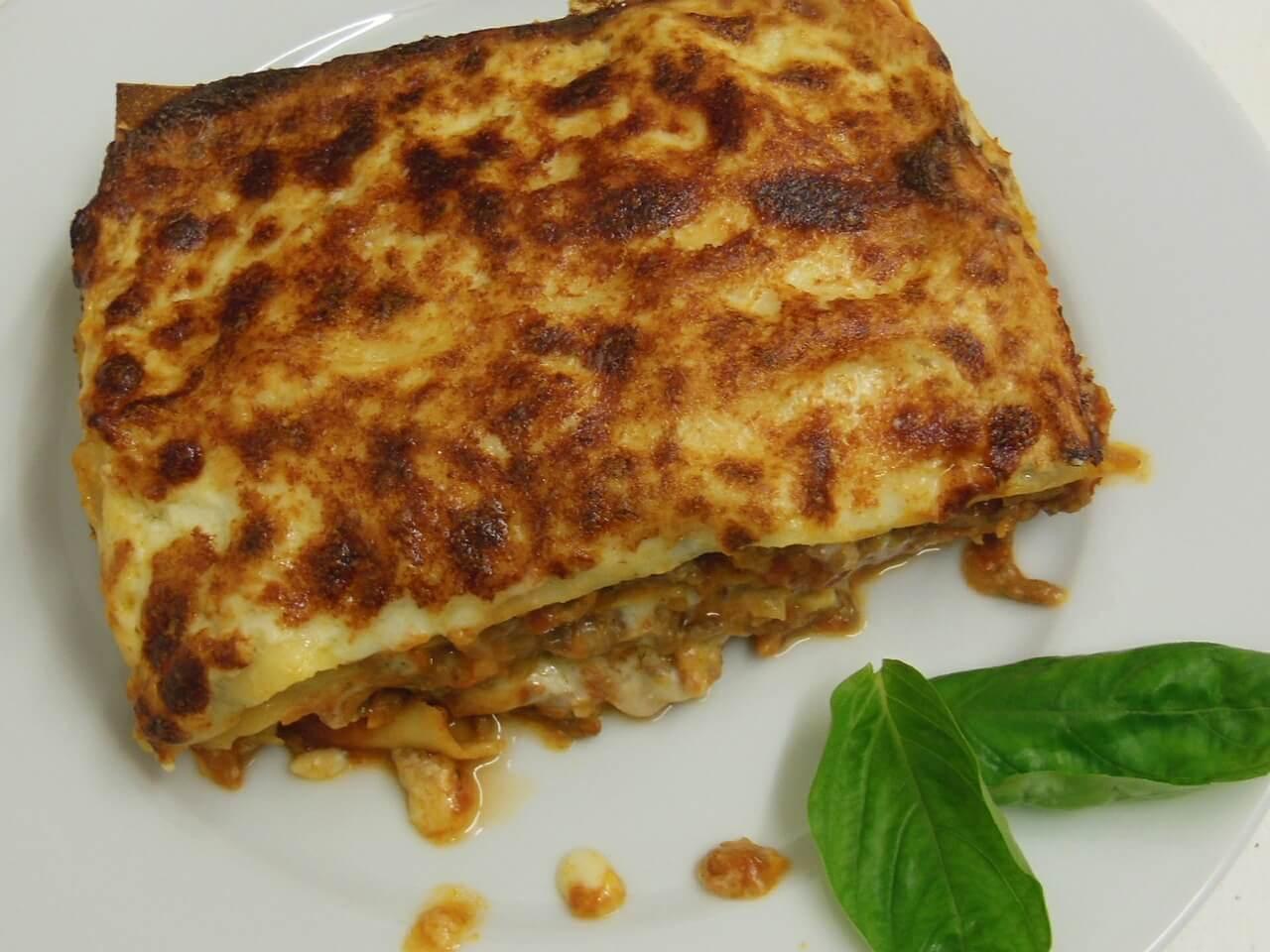 Lasagne alla bolognese cotte in forno alla perfezione