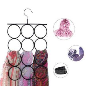 Gruccia salvaspazio per accessori di abbigliamento