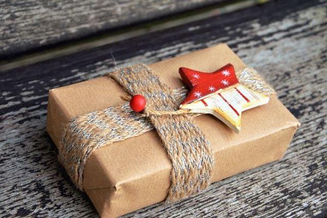 Idea per confezionare un regalo in modo originale