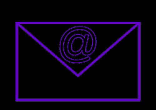 Disegno di email