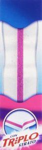2 strati esterni pulenti e 1 interno per facilitare la presa della spugna magica Mastro Linndo