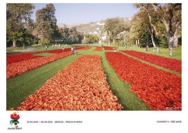 Tripudio di fiori a Euroflora 2018 ai Parchi di Nervi