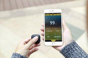 Dispositivo rilevatore di piccole dimensioni utile per localizzare oggetti come il telefonino