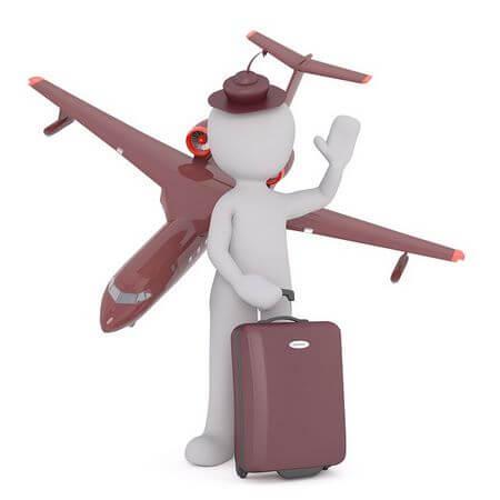 Un bagaglio a mano di determinate dimensioni si può imbarcare con sè in aereo