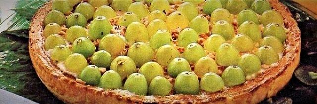 Crostata di uva fatta in pochissimo tempo