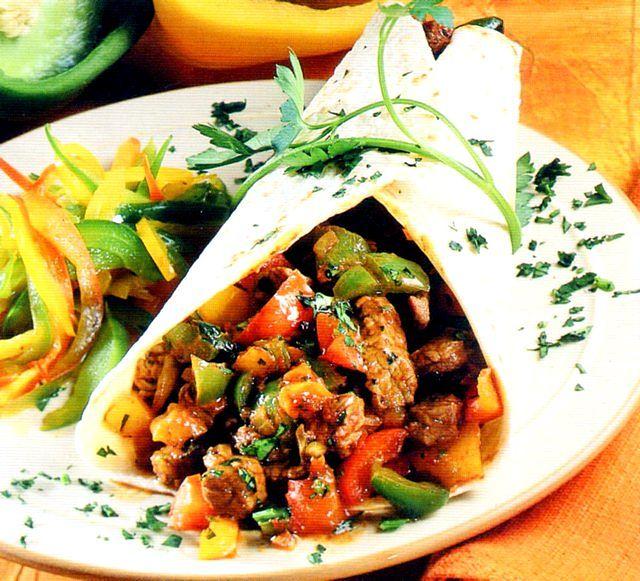 Tortillas ai peperoni