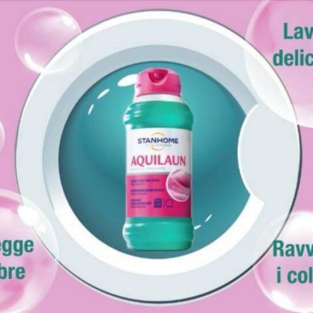 Aquilaun, prodotto specfico per il lavaggio di tessuti delicati