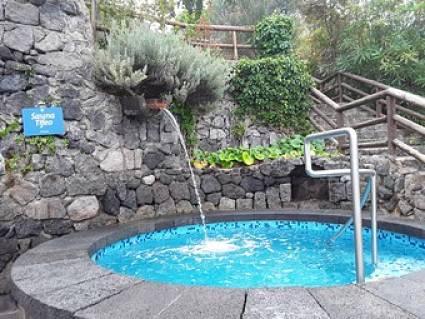 Vasca di acqua fredda in cui immergersi dopo la sauna