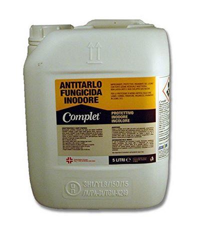 Conveniente tanica da 5 litri contenente insetticida Complet