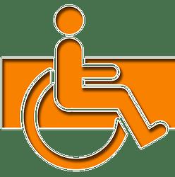 Simbolo di disabilità motoria