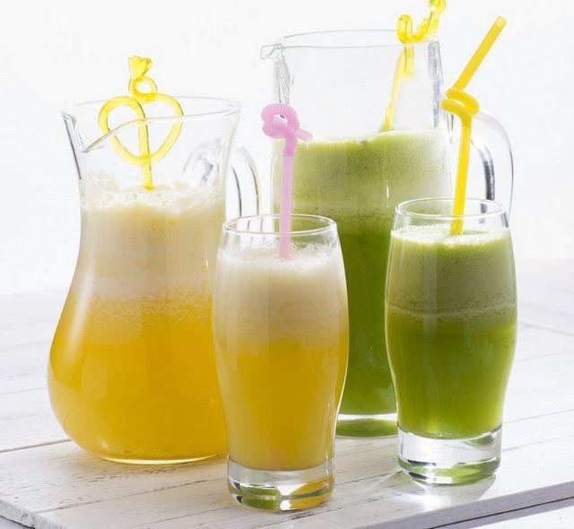 Benefici succhi di cavolo cappuccio bianco e di cavolo verde