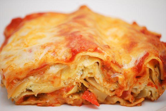 Lasagne con verdure stagionali al forno preparate con il minimo sforzo