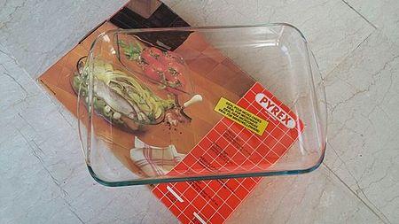 Lasagnera Pyrex in vetro borosilicato