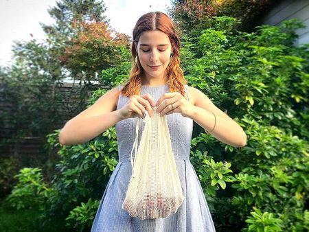Rete alimentare a maglia larga adatto ad essiccare la carne all'aria