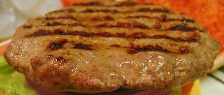 Hamburger cotto alla perfezione
