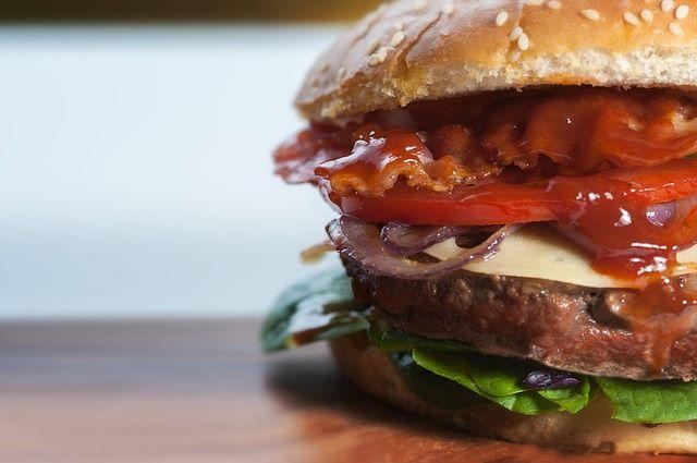 Panino con hamburger perfetto