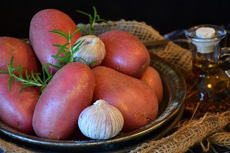 Patate rosse di buona qualità