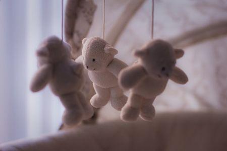 Giostrina per neonati con orsetti