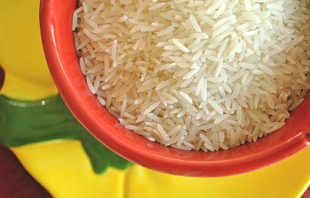 Aspetto del riso basmati crudo