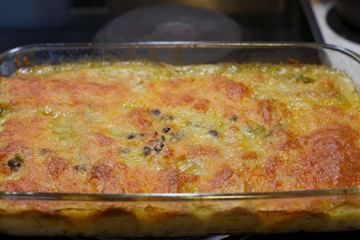 Cannelloni di carne e spinaci con besciamella alla piemontese