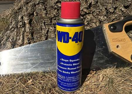 WD-40 in bomboletta spray