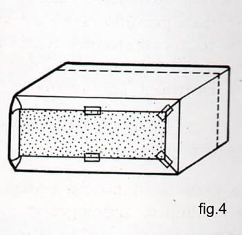 Come fissare i bordi del rivestimento di una scatola