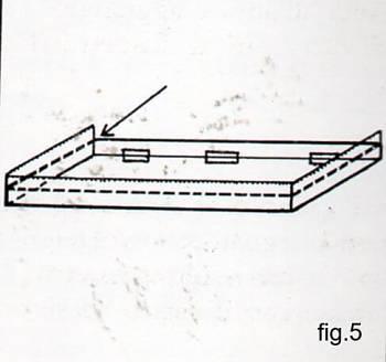 Come fissare il rivestimento ai bordi del coperchio di una scatola