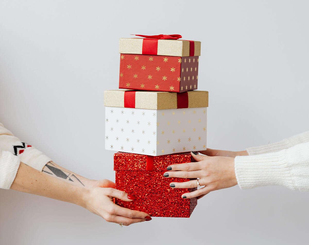 3 scatole rifasciate perfettamente con il fai da te